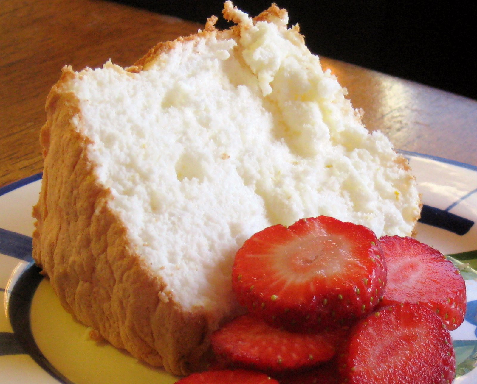 Lemon Angel Food Cake Dessert Recipe