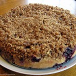 Gluten Free Blueberry Coffee Cake with Pecan Streusel Recipe