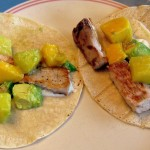 Gluten Free Fish Tacos with Mango Pineapple Salsa Recipe