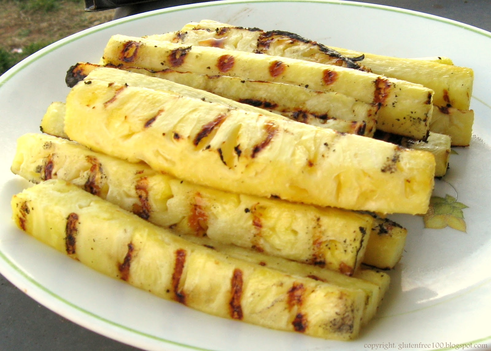 Gluten Free Grilled Pineapple & Kabobs Recipe