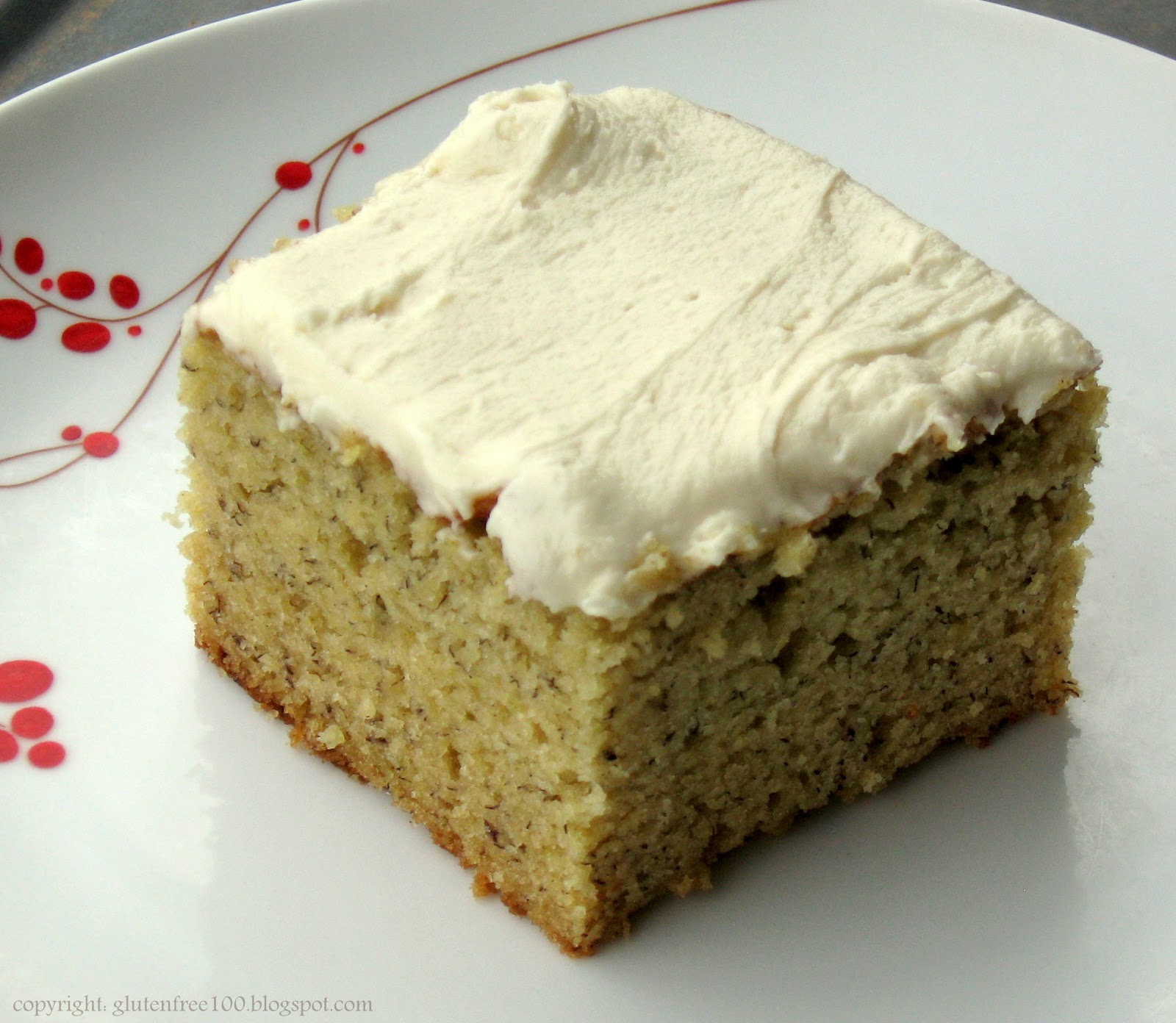 Free Cake Recipes Pictures : Gluten Free Banana Cake with Browned Butter Frosting Recipe