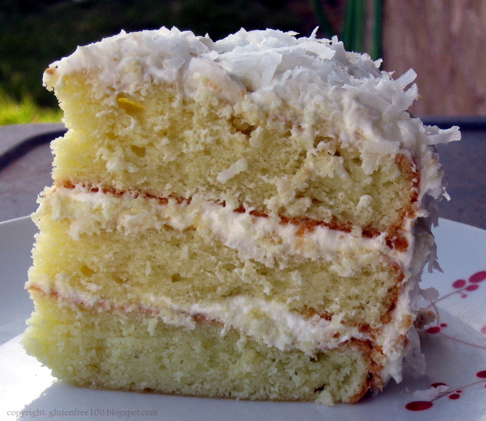 Free Cake Recipes Pictures : Gluten Free Coconut Layer Cake Recipe   Dishmaps