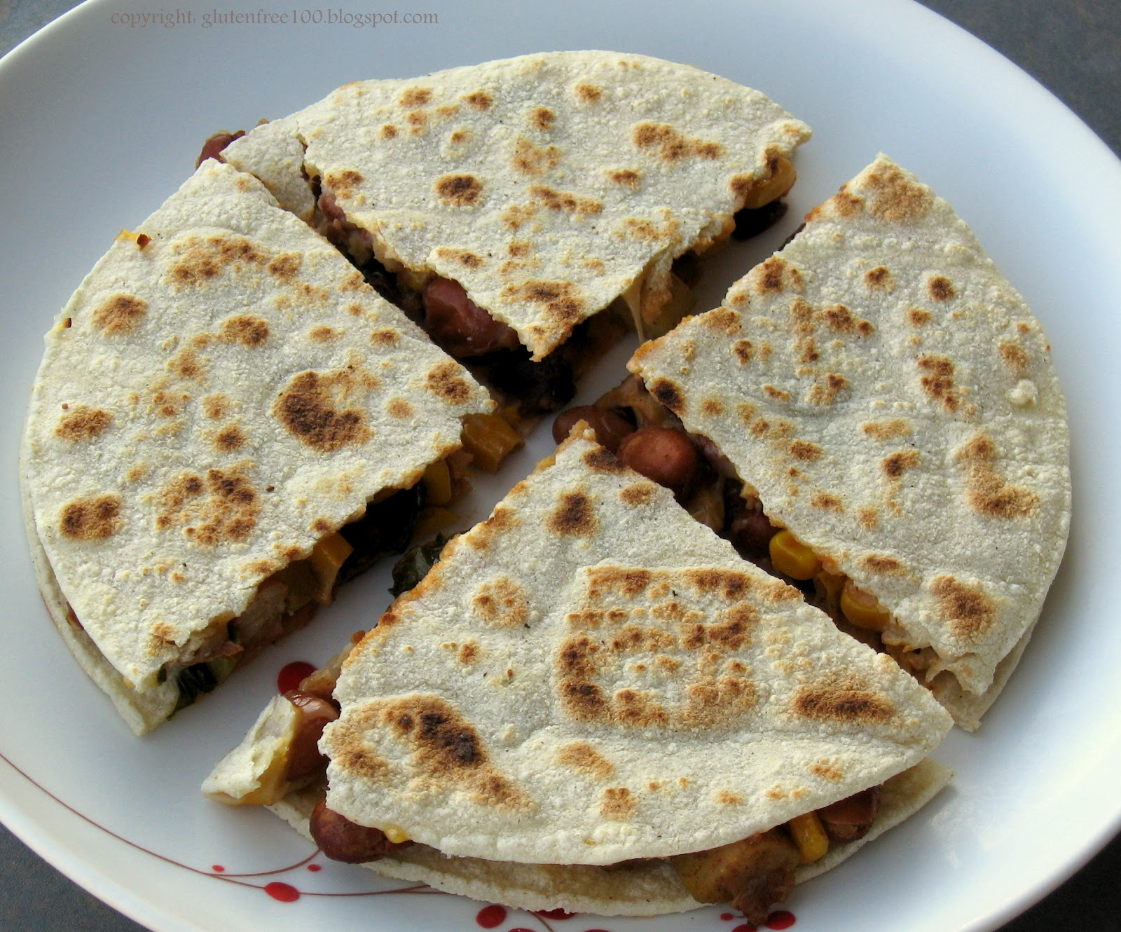Gluten Free Quesadillas Recipe