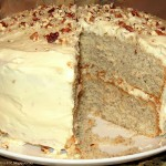 Gluten Free Toasted Pecan Layer Cake with Browned Butter Frosting Recipe