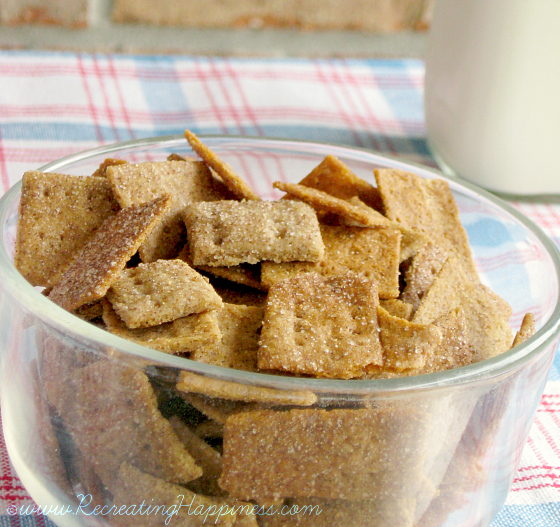 Wow!  Gluten Free Cinnamon Toast Crunch