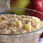 Apple Rice Pudding {Top 8 + Gluten Free}