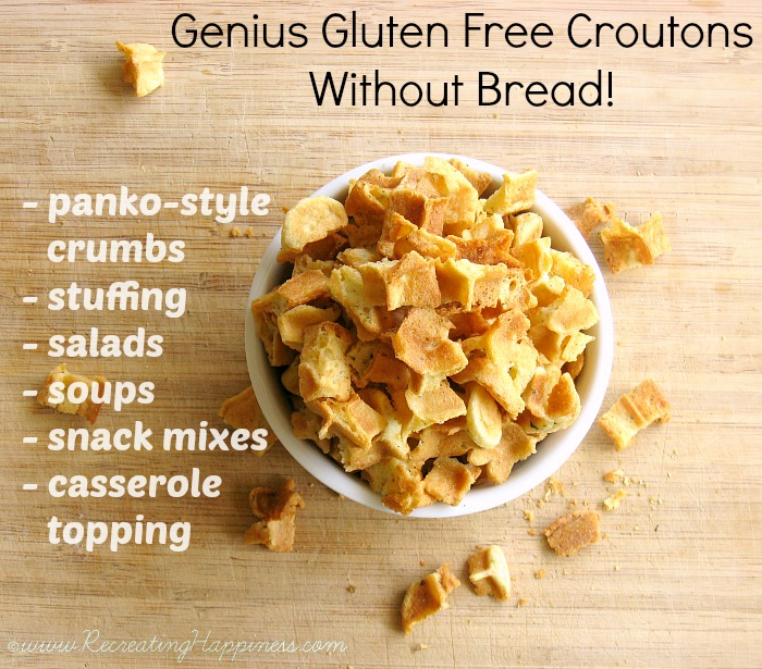 Genius GF Croutons & Panko Style Crumbs | No Bread Needed!