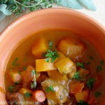 Herbed Fall Harvest Stew {made with love & pumpkin}