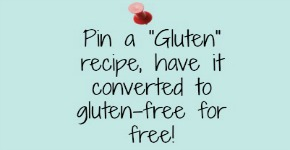 Submit a Recipe: Receive a Custom GF Recipe!