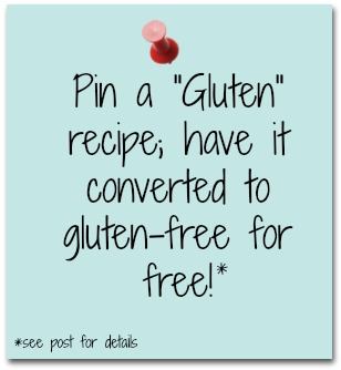 Receive a Custom GF Recipe!