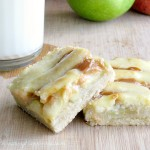 Apple Pie '63:  Caramel Cream Cheese Apple Pie Bars {gluten free}