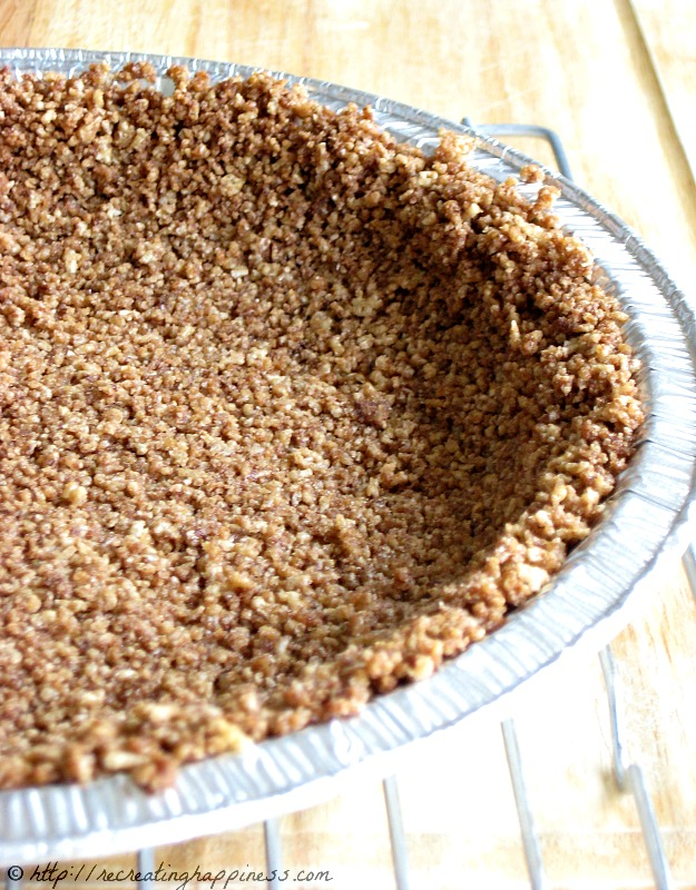 Use cereal for Gluten Free pie crust instead of graham crackers or ...