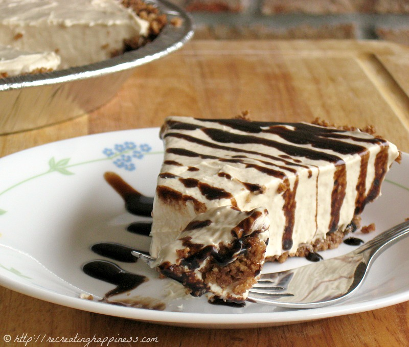No-Bake Peanut Butter Pie - super quick to make but a HUGE crowd pleaser (and it's gluten free!)