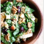 Spinach & Quinoa Winter Salad