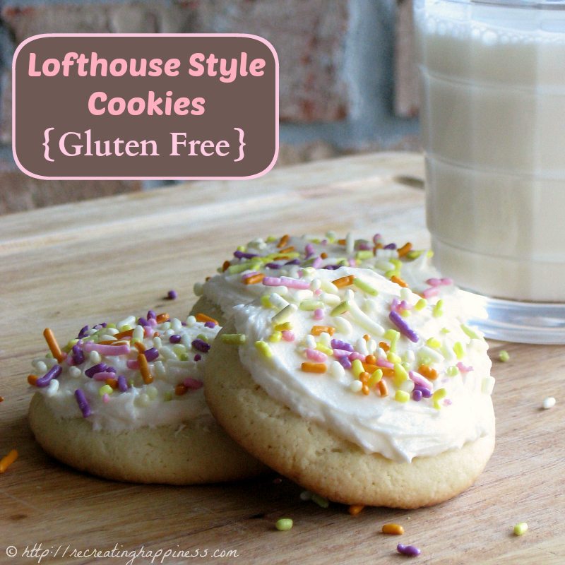 Lofthouse Style Frosted Soft Sugar Cookies (with secret ingredient!)
