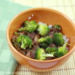 Orange Broccoli Beef {Crockpot}