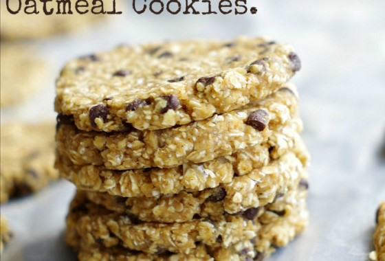 Flourless, Egg Free, Healthy (!!), Freezer cookies