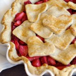 Fresh Strawberry Pie {4-ingredients!}