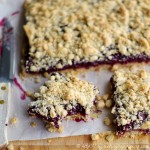 Fresh Blackberry Oat Bars