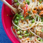One-Pot Asian Inspired Veggies & Noodles