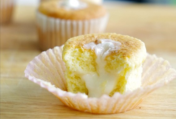 """Inside Out {Gluten Free} Cupcakes - perfect for freezing.  I sent half a dozen to my daughter's school as """"emergency backup"""" whenever someone has a birthday and her teacher forgets to tell me."""