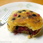 Double Berry Pancakes