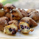 Blueberry Donut Fritters