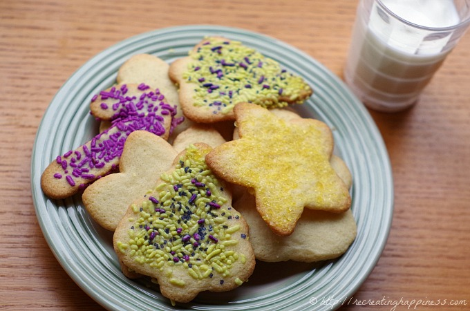 Easy #GF sugar cookies