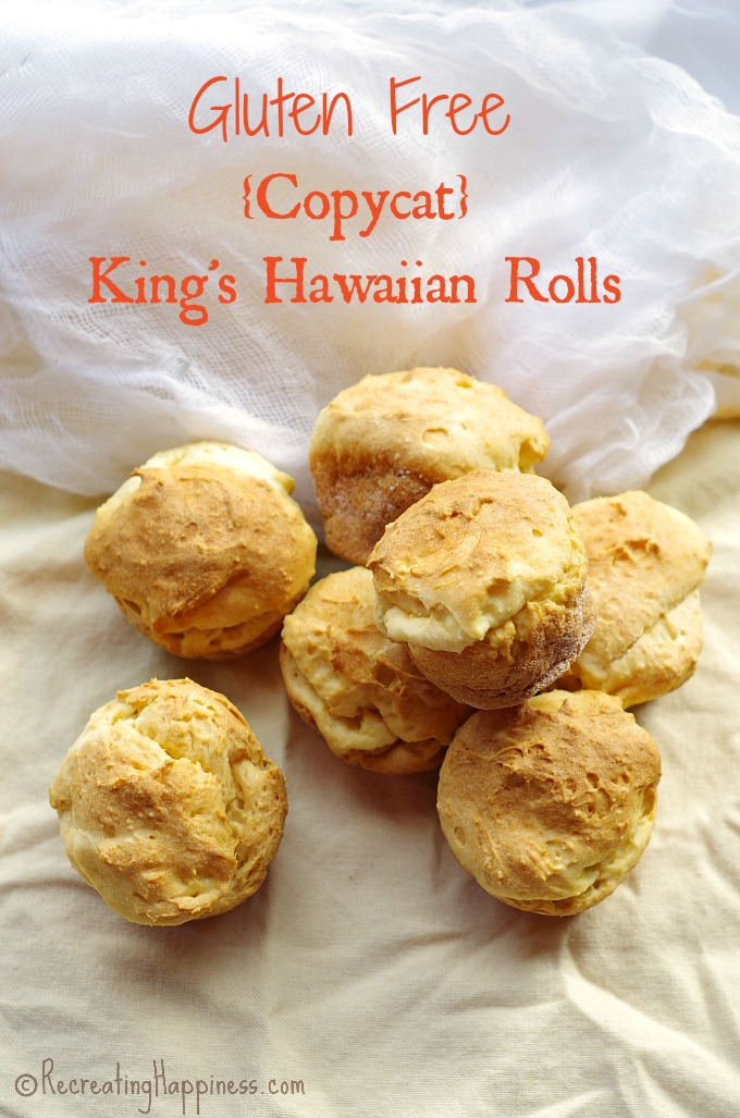 Soft & sweet copycat hawaiian bread #glutenfree