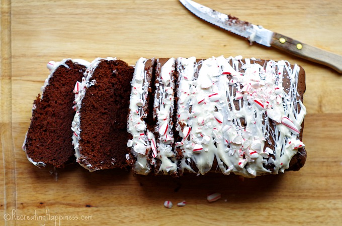 A #glutenfree cake version of a Starbucks Peppermint Mocha