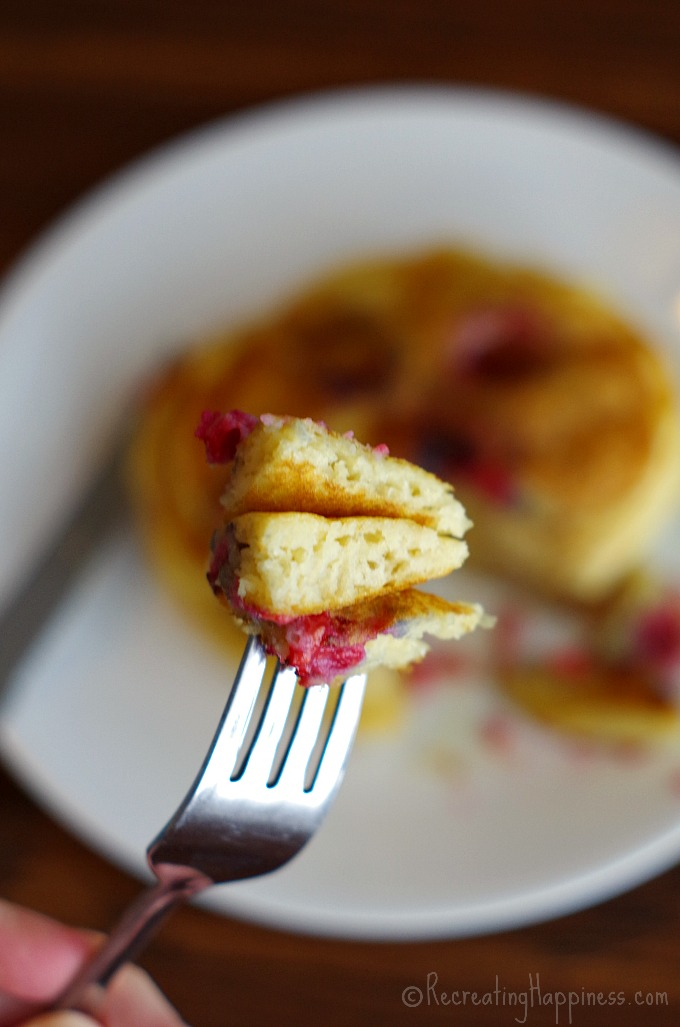 Gluten free pancakes that are fluffy - uses greek yogurt