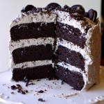 Gluten Free Cookies & Cream Layer Cake
